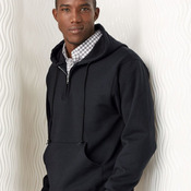 NuBlend® Quarter-Zip Hooded Sweatshirt