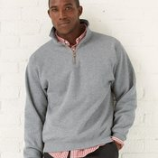 Super Sweats NuBlend® Quarter-Zip Cadet Collar Sweatshirt